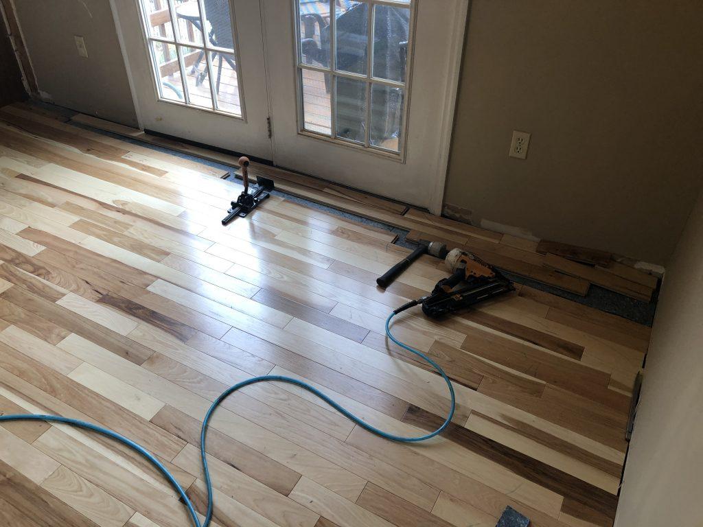 laminate hardwood flooring installation process