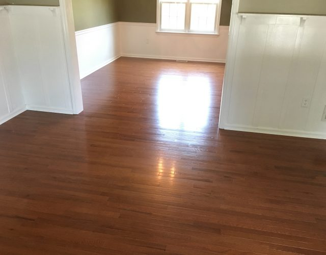 laminated flooring in home