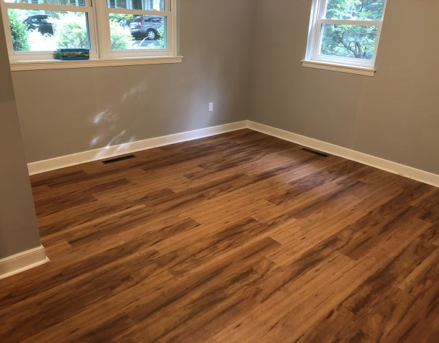 solid hardwood flooring in bedroom