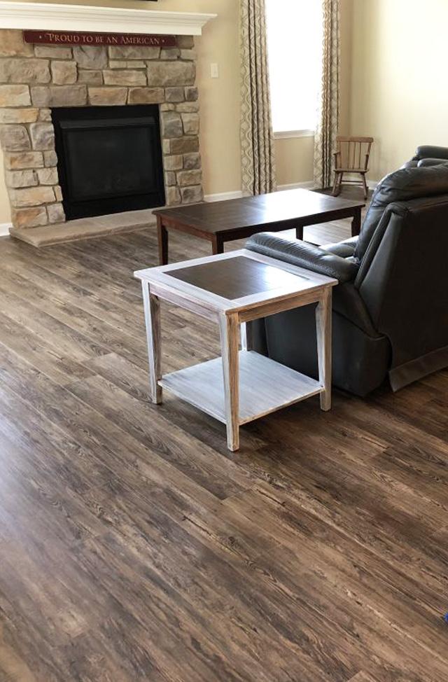 vinyl flooring installation in Lancaster PA